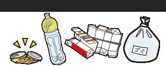 家庭ゴミ・資源ゴミを回収します!